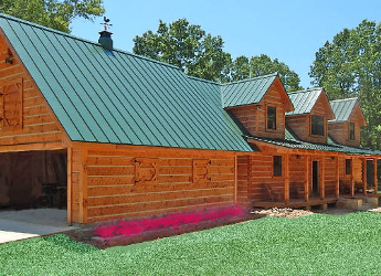 Log cabin repair remodels jackson ms newland construction group - Difference shell house turnkey ...